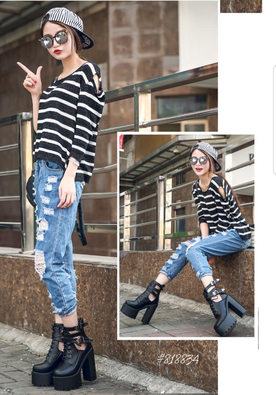 Sepatu boots perempuan terbaru 2020 818834, sepatu boots terbaru,