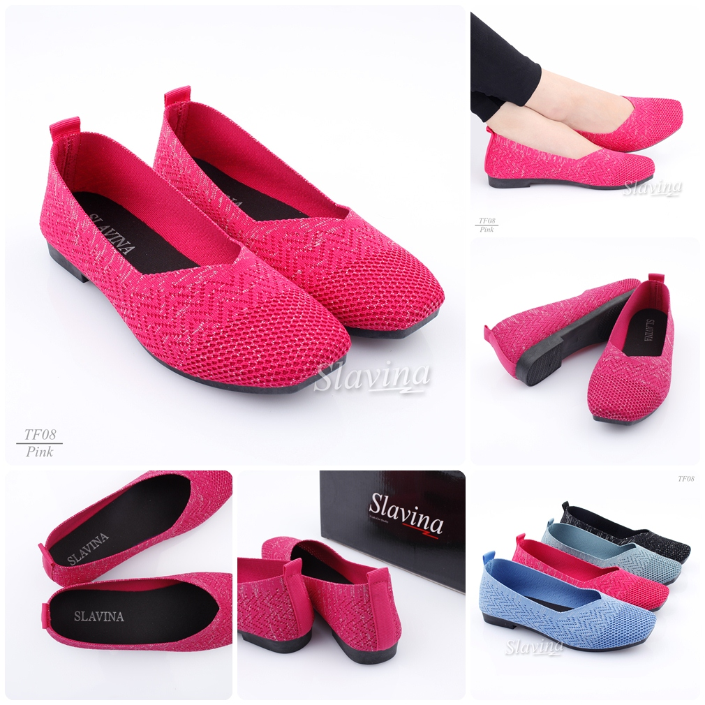 Model sepatu slavina syalia flat terbaru 2020 di indonesia TF08BZ