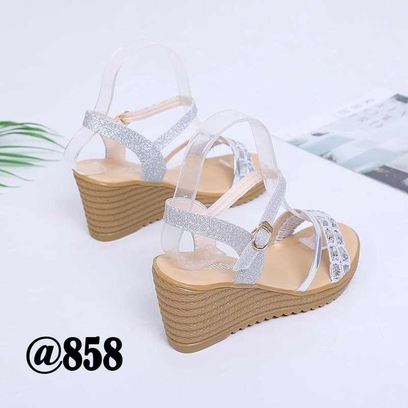 Sepatu sandal heels import batam terbaru JC SW-8625/SH-858 JL