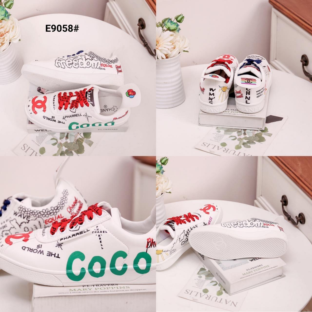 Model sepatu sneakers wanita terbaru 2020 indonesia E9058SV