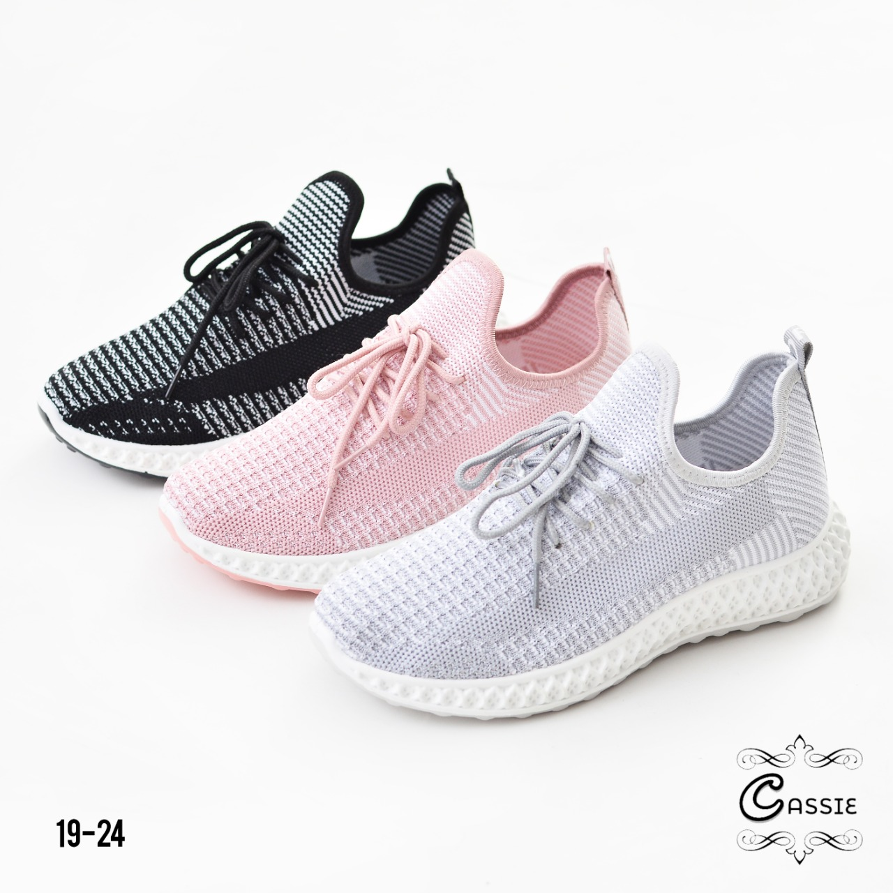 Sepatu sneakers wanita terbaru 2020 di indonesia 19-24is