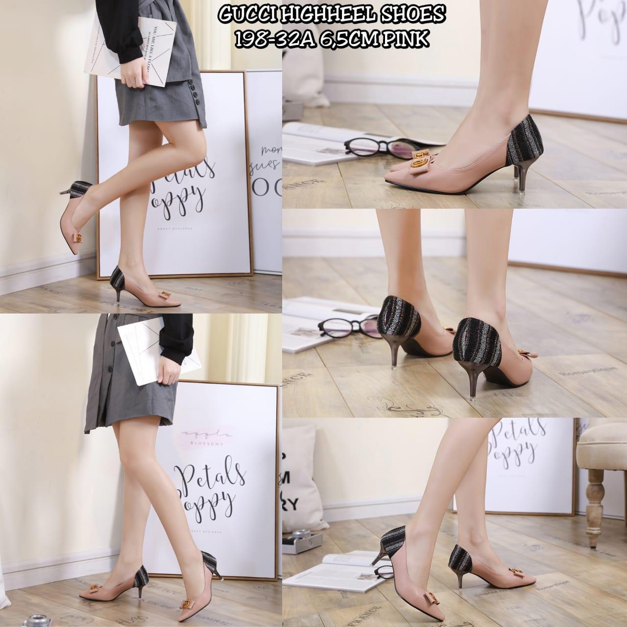 Sepatu high heels gucci terbaru 2020 di jakarta  198-32AB5