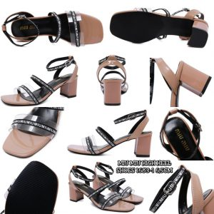 Jual sepatu MIU MIU HIGHHEEL SHOES terbaru 2020 batam 1683-1