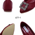 Model sepatu women shoes manolo blahnik terbaru berkualitas 677-1H4