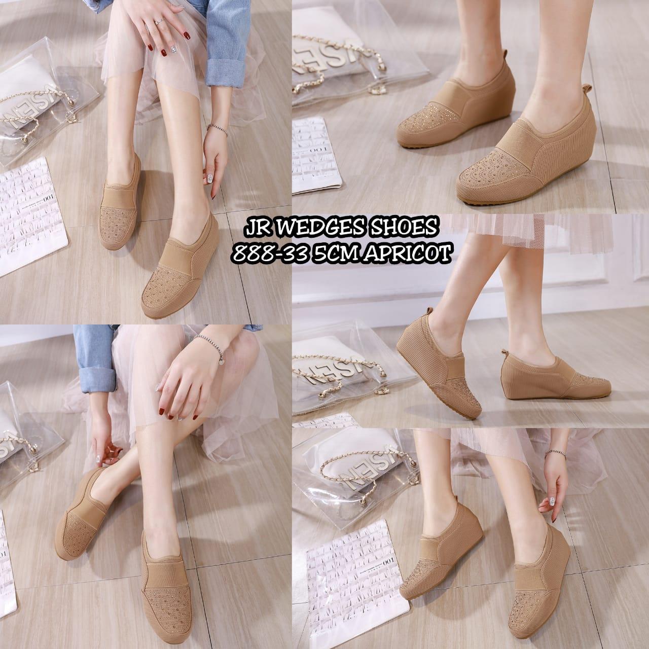 sepatu wedges terbaru di indonesia  888-33B5