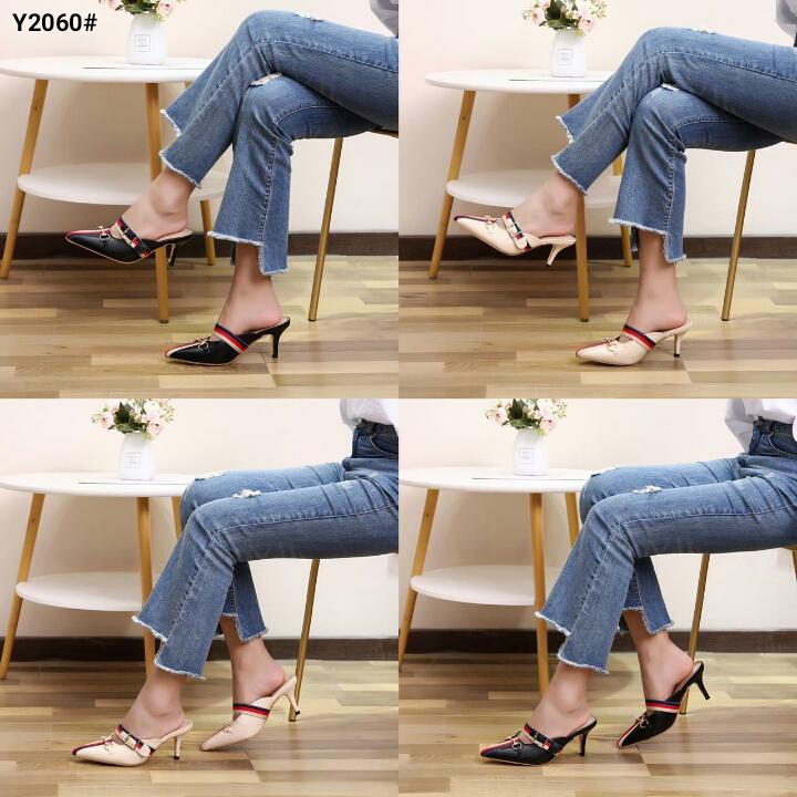 Model Heels fashion gucci terbaru 2020 surabaya Y2060SV