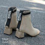 Macam macam model sepatu boots wanita terbaru indonesia 2020 ER558