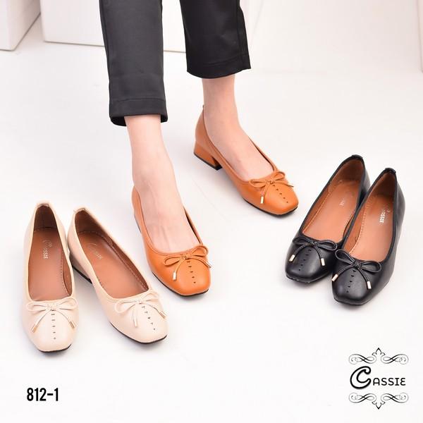 Model sepatu flat shoes wanita terbaru 2020  812-1IS