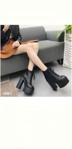 Sepatu boots platform terbaru di indonesia A698-1