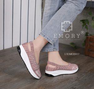 Sepatu wanita wedges terbaru di bandung  17EMO2017BZ