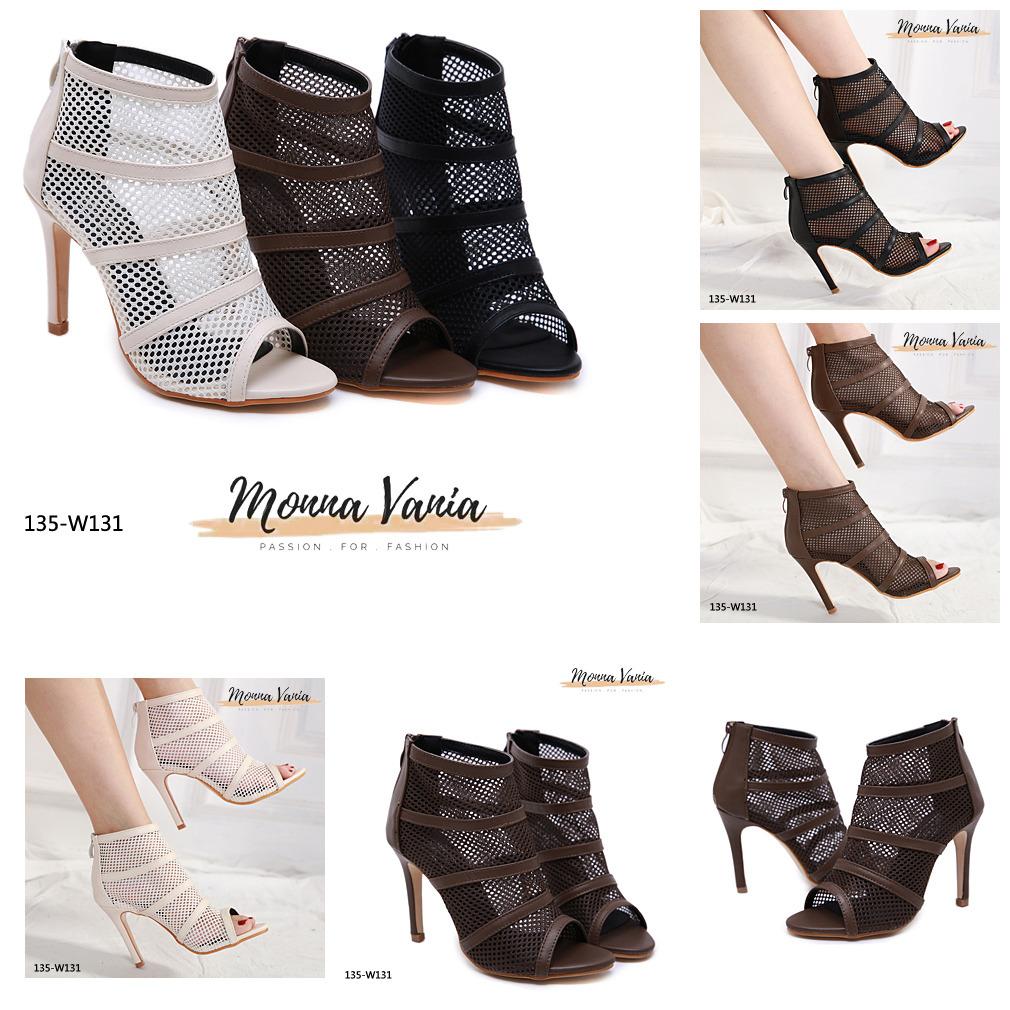 sepatu monna vania terbaru di indonesia 2020 135-W131H4