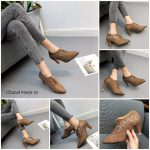 sepatu wanita terbaru di batam 2020 9659-39GR,jual sepatu flat wanita,jual sepatu high heels,jual sepatu hak tinggi