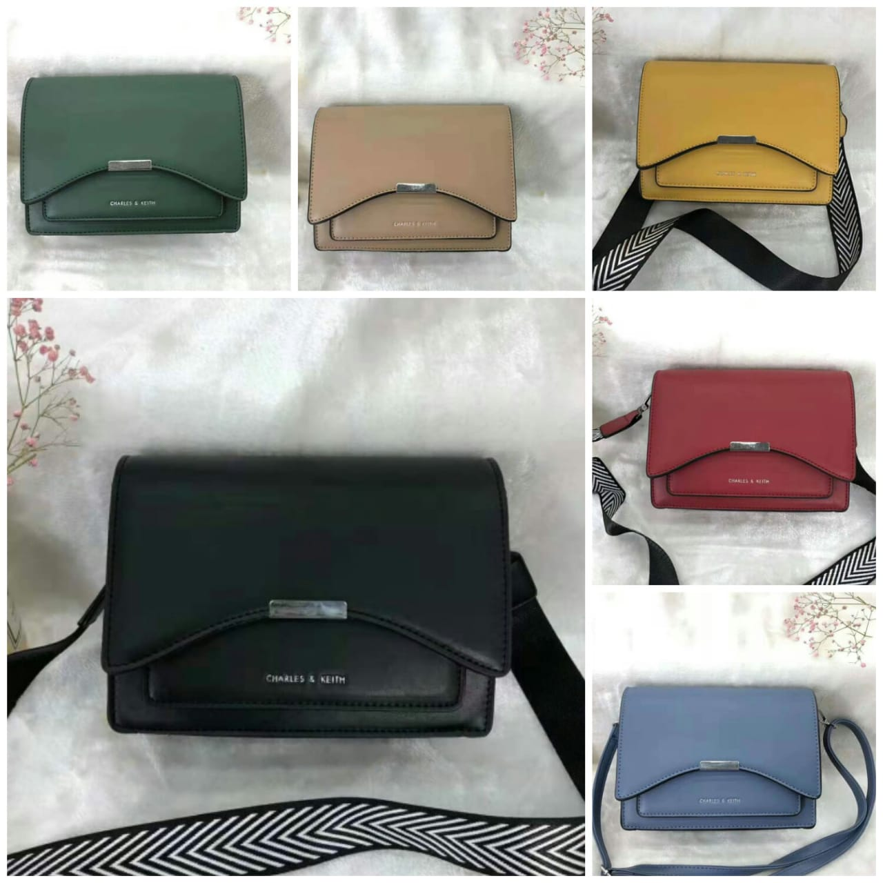tas charles and keith original murah 2020 6062-1AJ , jual tas charles and keith, suplier tas charles and keith murah, jual charles and keith murah original