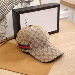 Gucci Unisex GG Canvas Baseball Hat Cap murah branded 2020 2021 2022