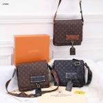 Tas Louis Vuitton Messenger Bag Unisex In Monogram 27386 Platinum KODE LV1120