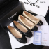 SEPATU CHANEL WANITA IMPORT Chanel Flat 166-36 Semi Premium (Kode: SCH115)