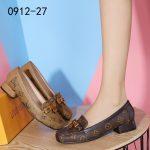 SEPATU WANITA KEKINIAN TERBARU CASUAL Louis Vuitton Shoes 0912-27A1