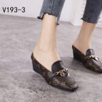 HARGA sepatu lv wanita terbaru,Sepatu Louis Vuitton Heels V193-3 Semi Premium