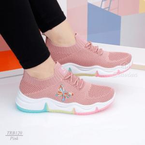 MODEL Sepatu wanita kekinian  Slavina Lusyana Sneaker TRB120 Original Brand