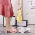 SANDAL WANITA BRANDED TERBARU 2021 2022 Sandal Gucci Heels 2021-1 Semi Premium