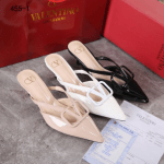 SEPATU HEELS WANITA BRANDED MERK VALENTINO 455-1 Semi Premium
