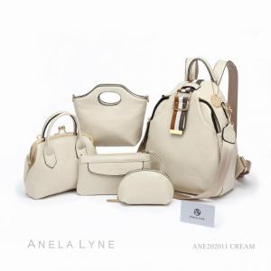 Tas Anela Lyne Nisrina Back Pack ANE202011 Original Brand