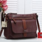 Tas Fossil wanita terbaru import Tas Fossil Kinley Largr Crossbody Bag 2tone Clemente 629-A592 Semi Premium
