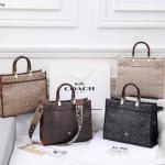 Tas wanita tote bag keren BRANDED IMPORT BATAM Tas Coach Signature Tote Bag 7773 Semi Premium
