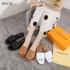 MODEL SANDAL WANITA SANTAI 2021,Sandal Louis Vuitton LV Empreinte Flats Sandals Packing Premium W16-78 Semi Premium (Kode: SLV325)