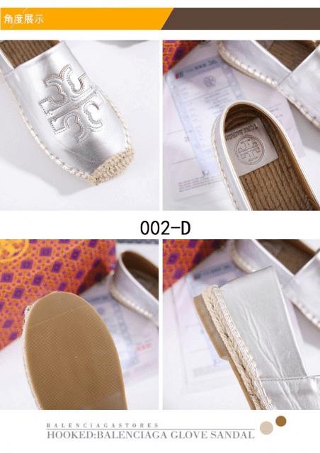 MODEL SEPATU WANITA UNTUK JALAN-JALAN, Sepatu Tory Burch Espadrille In Leather 002-D Semi Premium Kode STB100 3