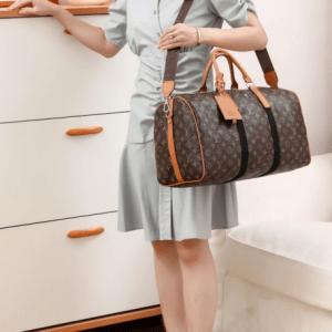 MODEL TAS LV TRAVEL BAG Tas Louis Vuitton Travel Bag 4813 Platinum kode LV1552 2