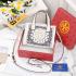 Model Tas Selempang Wanita Terbaru 2021,Tory Burch Mini Shopper T-521-A Platinum Kode TRB185