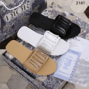SANDAL WANITA BRANDED TERBARU MODEL KEKINIAN,Sandal Christian Dior Diorevolution Slide Leather 2181 Platinum Kode SCD110