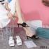 SANDAL WANITA HAK TINGGI TERBARU Sandal Prada Heels 2035-3 Platinum SFA1319