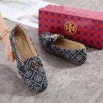 SEPATU WANITA KEKINIAN 2021 TERBARU Sepatu Tory Burch T Monogram Loafer 308-A23 Semi Premium Kode STB255
