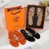 Sandal Hermes WANITA TERBARU KEKINIAN Thong H32 Platinum Kode SHE143