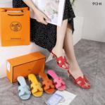 Sandal Hermes WANITA semi original Oasis 913-H Platinum kode SHE142