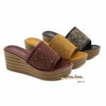 Sandal Monna Vania Wedges Platform 8267-10 Original Brand Kode SMV498