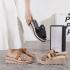 Sandal wedges wanita shopee terbaru Gucci Wedges 172-25 Platinum Kode SGU387