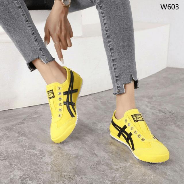 Sepatu Fashion SPORT Onitsuka Slip On Sneakers W603 Semi Premium Kode SFA1331 4