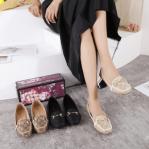 Sepatu Gucci GG Canvas Horsebit Flat 308-82 Semi Premium Kode SGU388