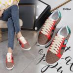 Sepatu Gucci WANITA TERBARU 2021 X Doraemon Ace Leather Women's Sneakers Shoes E9096 Semi Premium Kode SGU393