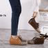 Sepatu Gucci wanita TERBARU 2021 GG Canvas & Leather Shoes 888-76 Semi Premium Kode SGU134
