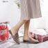 Sepatu Sandal Wanita Kekinian Model Flat,Sepatu Gucci Princetown Leather & Canvas Slipper 928-10 Semi Premium Kode SGU230