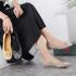 Sepatu wanita kekinian 2021 shopee,Sepatu Tory Burch T Monogram Ballet Flat 70680-4 Semi Premium Kode STB260