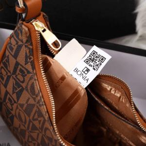 TAS BONIA SELEMPANG TERBARU Tas Bonia Shoulder Bag 8088 Platinum Kode BON257