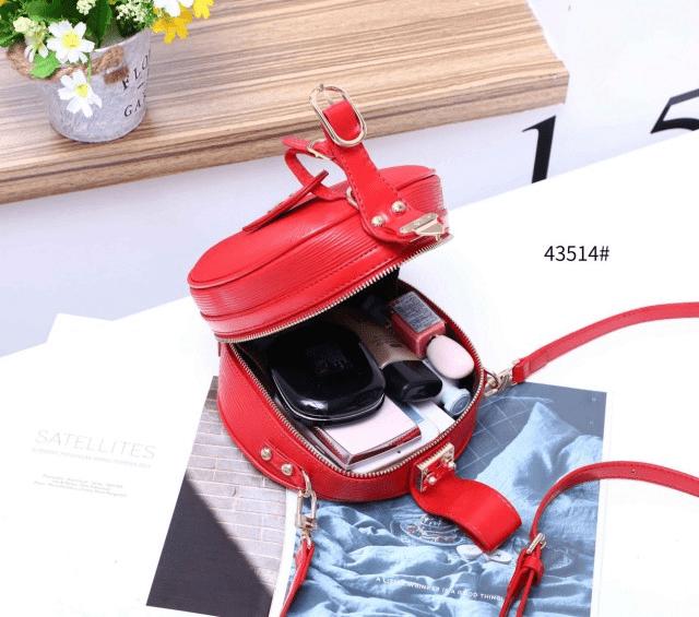 TAS SELEMPANG LV KECIL TERBARU Tas Louis Vuitton Petite Boite Chapeau 43514 Semi Premium Kode LV1554 2