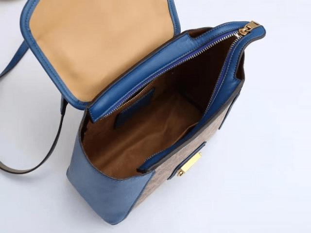 Tas Branded Coach Batam,Courier Carryall in Colorblock 6828A Semi Premium Kode COA615 3