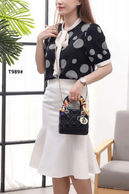 Tas DIOR SELEMPANG TERBARU 2021, CD Christian Dior Lady Leather Sling Bag T989 Platinum Kode CD4012 4