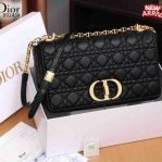 Tas DIOR SELEMPANG TERBARU,Christian Dior Caro Bag Combines Modernity Platinum Kode CD4094